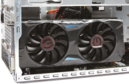 Support large size high-end graphics card