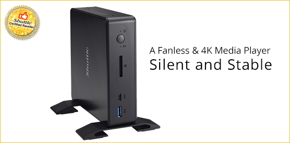 Shuttle Silent Media Player
