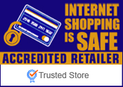 The Trusted Store Seal is also awarded to merchants who are accredited by ISIS and display the ISIS seal on their Site